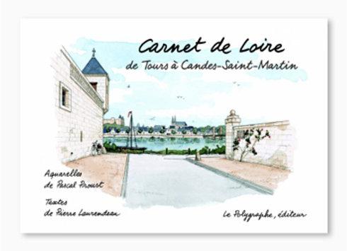 Couverturede Carnet de Loire, de Tours à Candes Saint-Martin