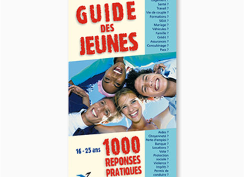 Couverture de Guide des jeunes - 1000 réponses pratiques