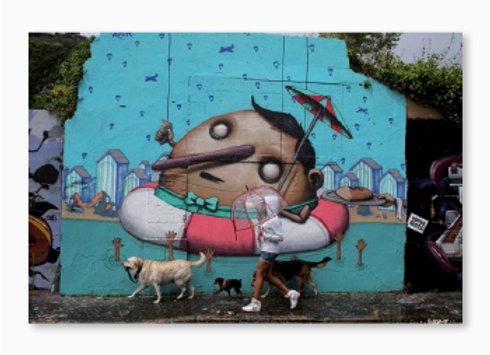 Au paradis des graffeurs à Nantes - Ador & Semor