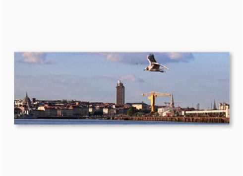 Panorama du port de Nantes