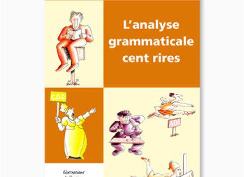 Couverture de L'Analyse grammaticale cent rires