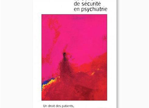 Couverture de Le Souci de sécurité en psychiatrie