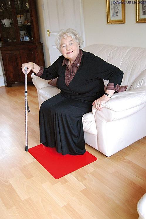 Anti Slip Floor Mat 60cmx45cm - Red