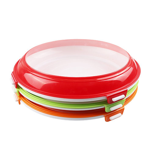 Food Grade Round food Storage Container Clever Tray