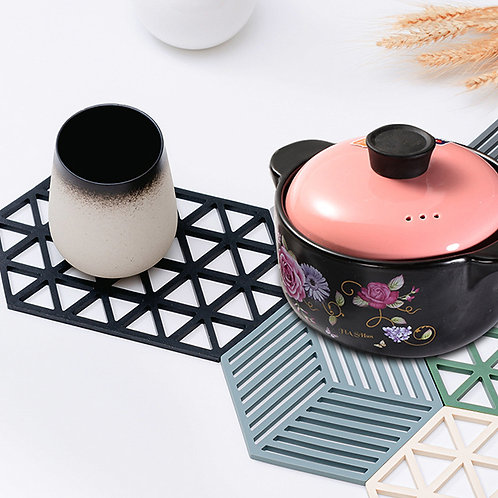Newest Eco Friendly Heat Resistant Table Silicone Placemat