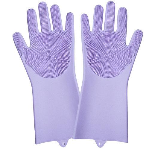 Wholesale waterproof Magic silicone dishwashing gloves