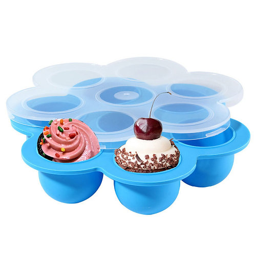 Silicone ice mold Multipurpose Tray for Freezing Baby Food