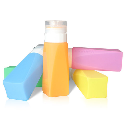 90ML Squeezable Container Food Grade Silicone Travel Bottle