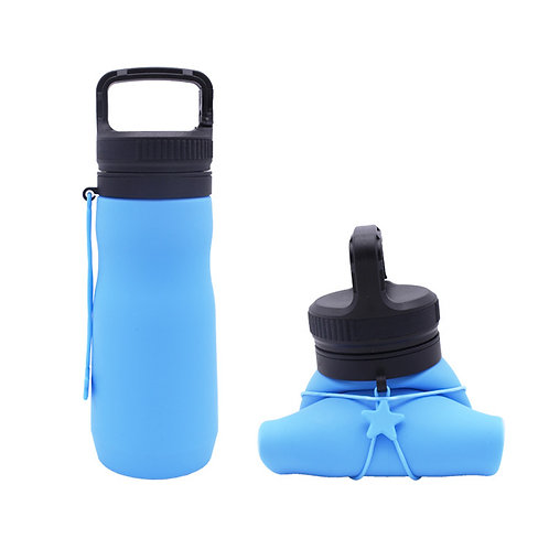 M669 Folding silicone water bottle