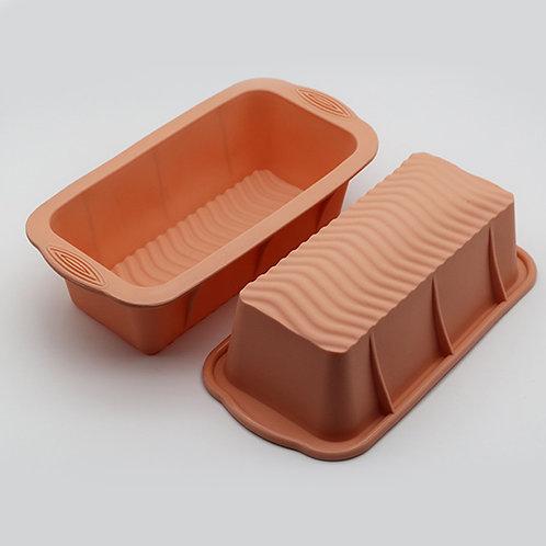Wholesale Rectangular Custom Baking Toast Bread Food Silicone Cheese Cake Mold