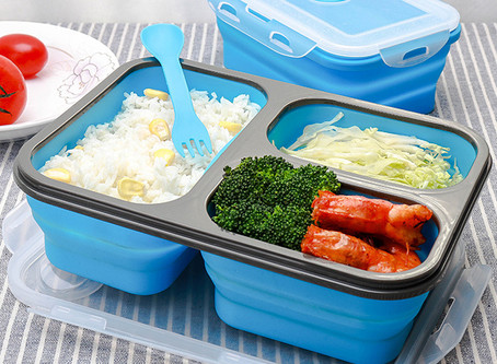 What are the advantages of silicone lunch boxes?
