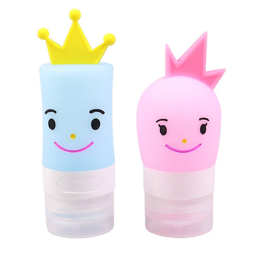 40ml new product cute TSA Approved silicone travel bottle