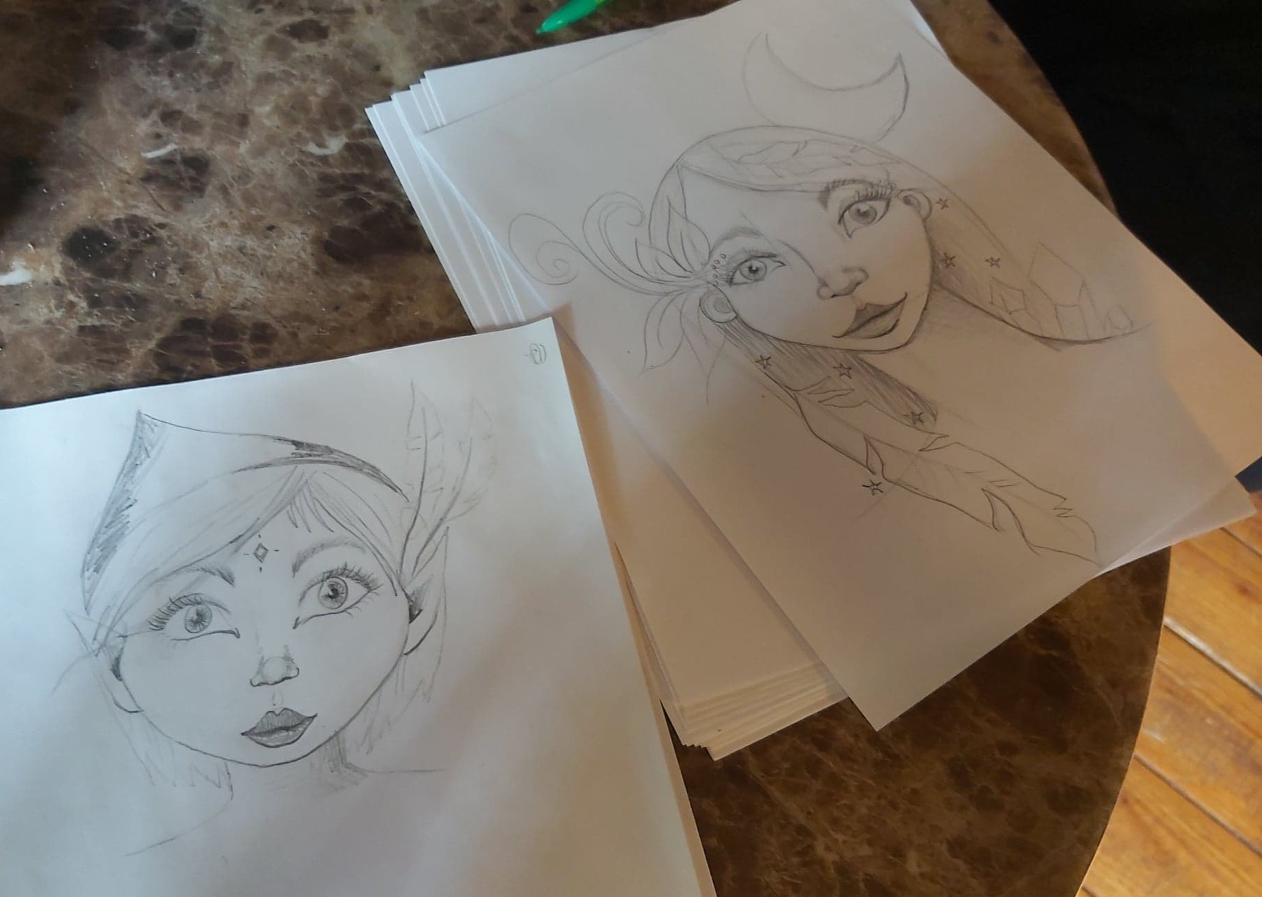 Drawing Faces with Paloma Joy