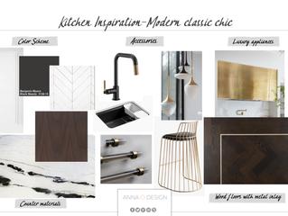 Kitchen Inspiration-Modern Classic Chic