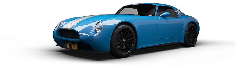 HB Coupe Road Racer Blue Side Front-s.pn