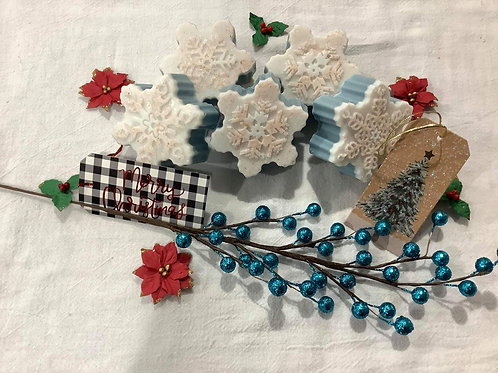 Snowflake Foot Scrub Bar