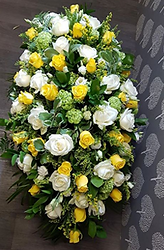 Funeral Flowers Coffin Sprays Double