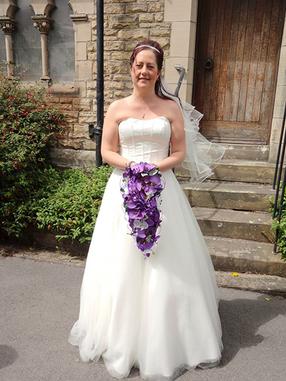 Brides Bouquet 05 Aritifical