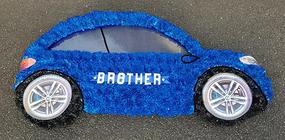 2D Blue Car