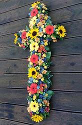 Funeral Flowers Crosses