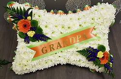 Funeral Flowers Cushion Tributes