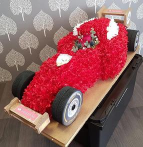 3D F1 Car Red