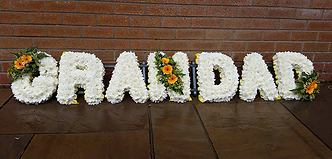 Funeral Flowers Letters
