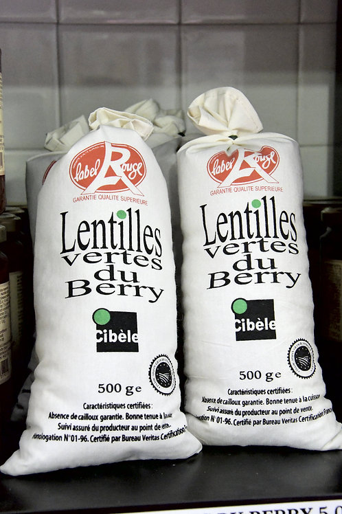 Lentilles du berry Label Rouge