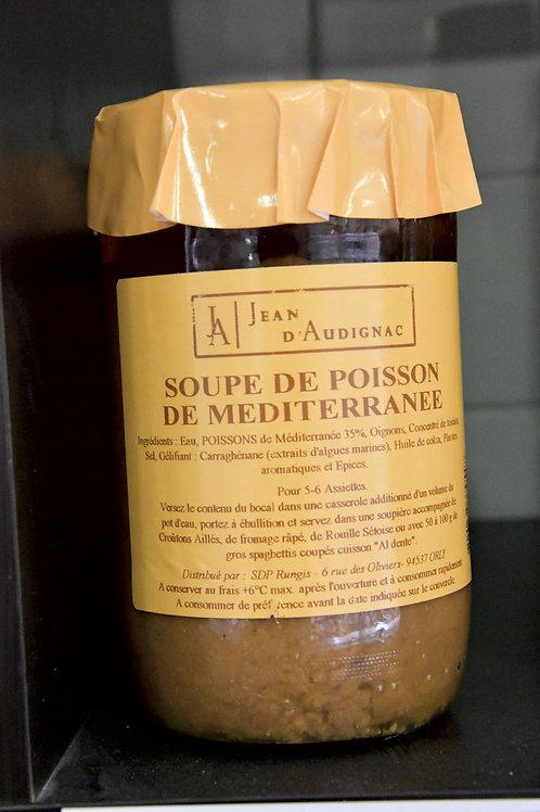 Soupe de poisson de Méditerannée Jean d'Audignac