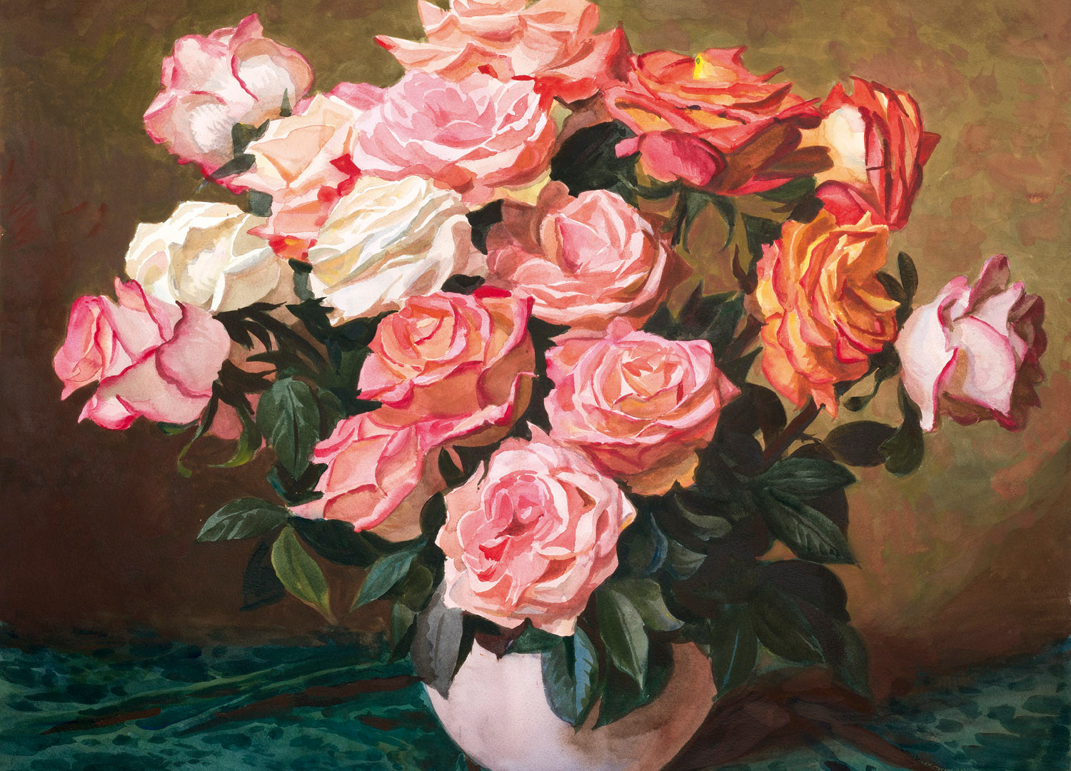 The delicious fragrance of roses, 2015