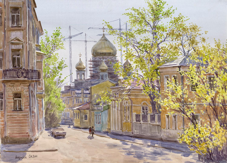 Starokonyushenny Lane, 2000