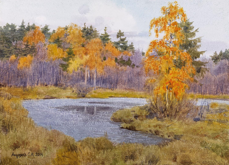 The autumn landscape, 2014