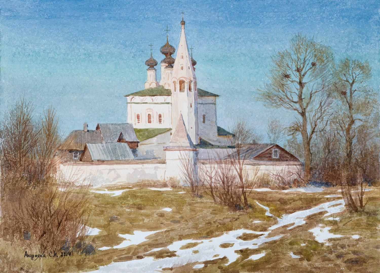Spring in Suzdal, 2014