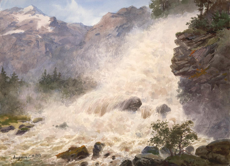 Waterfall, 2005