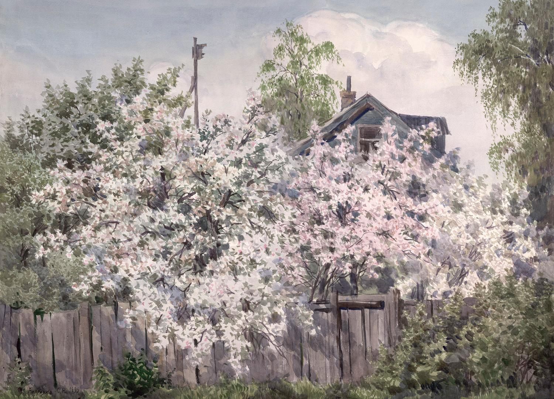 Gardens in blossom, 1999