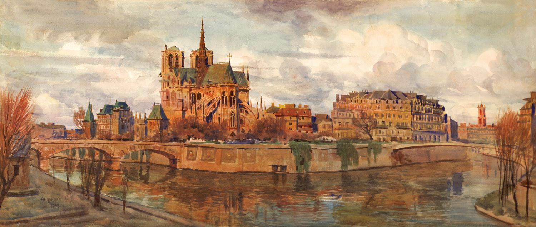 Notre-Dame. Paris, 1993