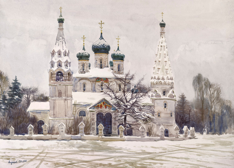 The Yaroslavl Cathedral, 2001