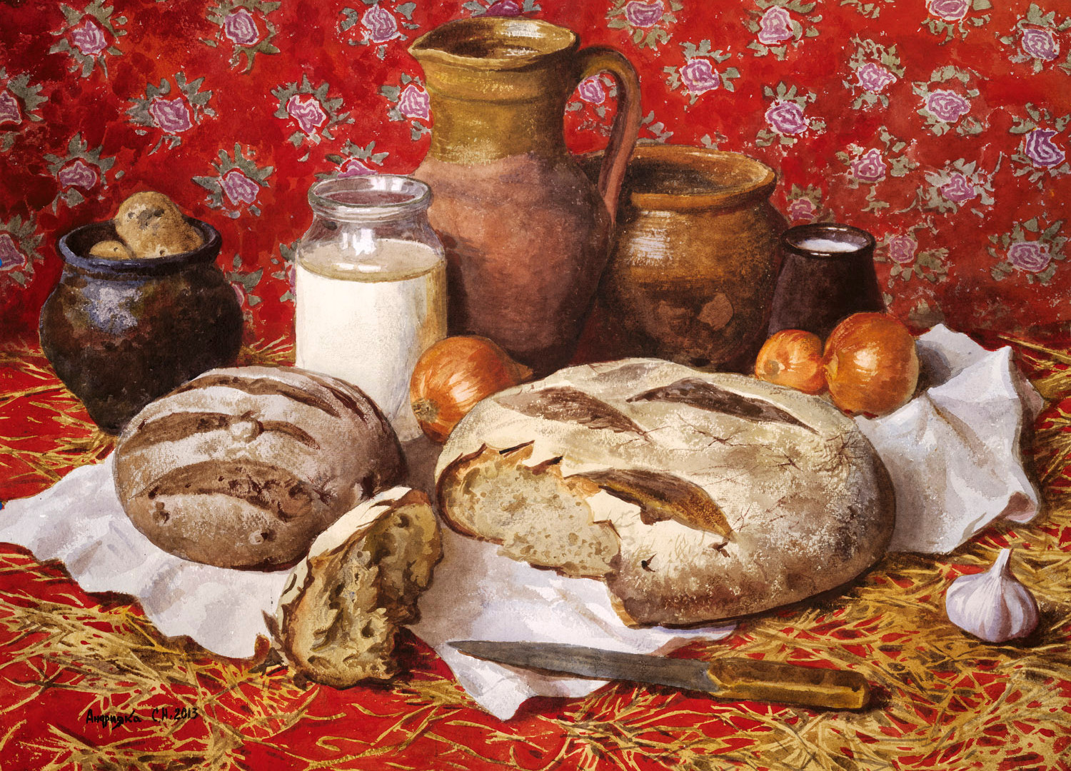 The daily bread, 2013