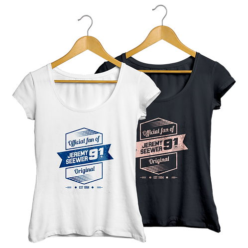 Lady V-Neck T-Shirt vintage