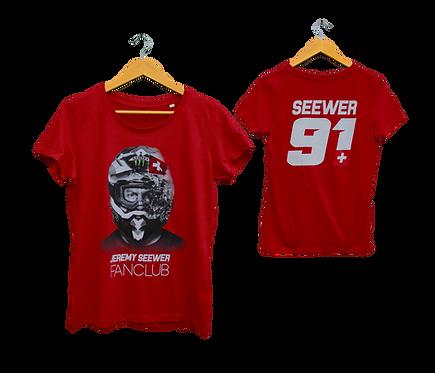 Jeremy Seewer FANCLUB T-Shirt WOMAN