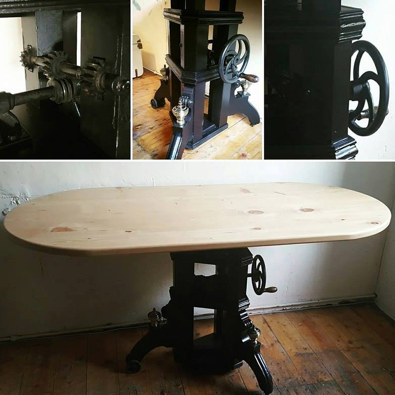 Steampunk table £3500