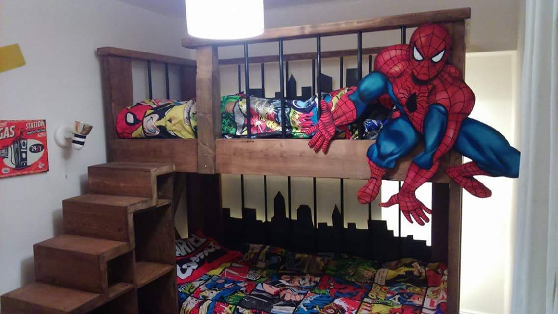 Character Cityscape Bed £4000