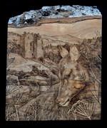 The Deer by Neidpath Castle