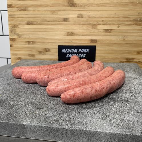 Pork Sausages (Medium)