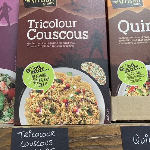 Tricolour Couscous