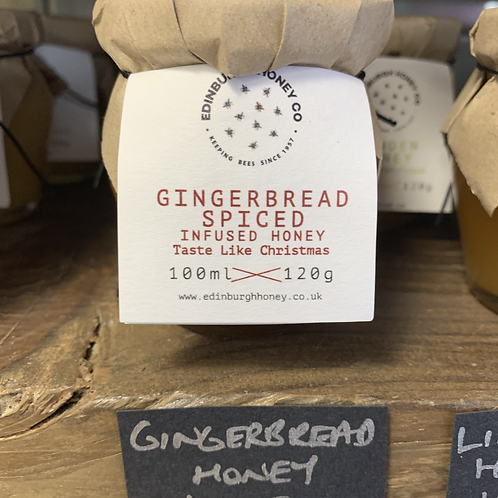 Gingerbread Spiced Infused Honey