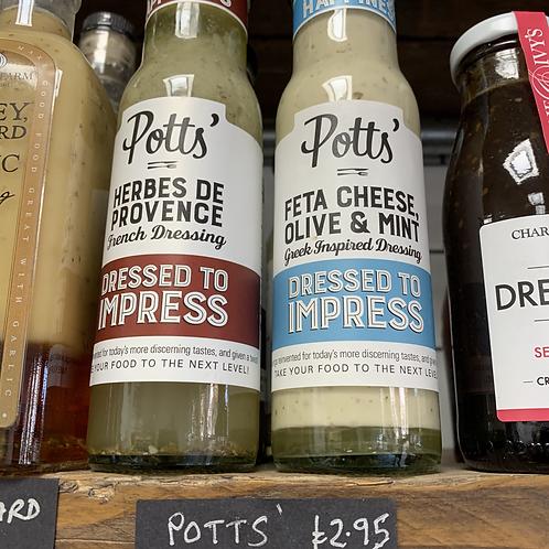 Potts' Greek Dressing