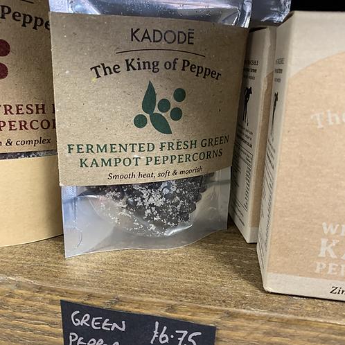 Fresh Green Peppercorns