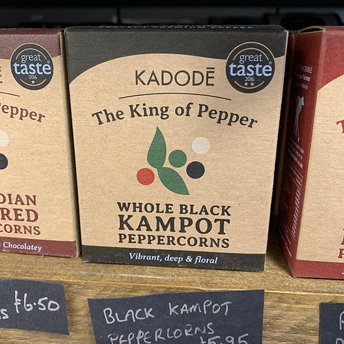 Black Kampot Peppercorns