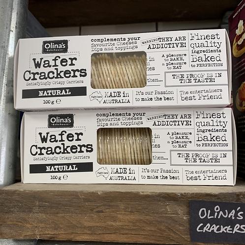 Olina's Wafer Crackers